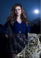 Lydia Martin and Her Daemon by LJ-Todd