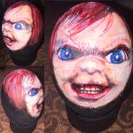 Chucky on Easter egg by Rene-L