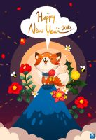 Happy New Year 2016 by ethe