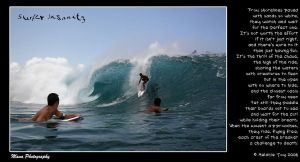 Surfer Insanity Visual Poem by meljoy68