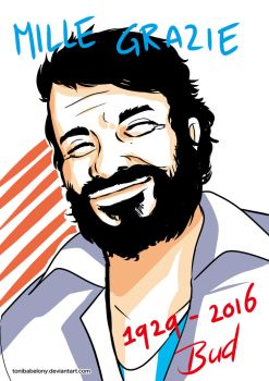In Memoriam, Bud Spencer by ToniBabelony