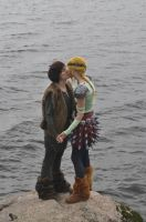 Hiccup and Astrid - Kiss by Kozekito