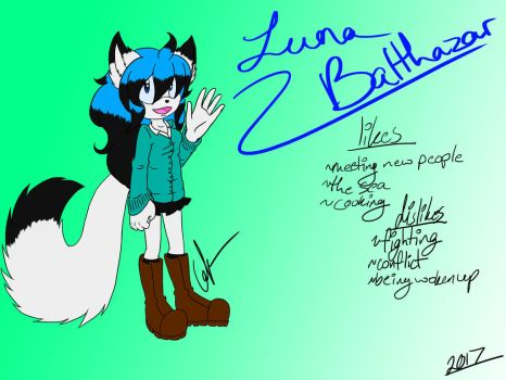 WELCOME BACK!-Luna Balthazar Reference Sheet by ShadKiaraGal