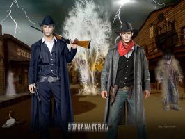 SPN Ghost Town by macfran