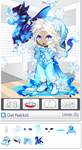 Gaia Online: Frosted 2k14 and Young Fafnir Avatar by icefox94