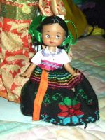 mexican cute doll by curlytopsan