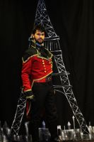 Finished Costume (Steampunk Starfleet Officer) by citizenkaneV