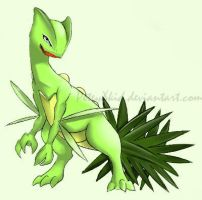 Sceptile by PeteyXkid