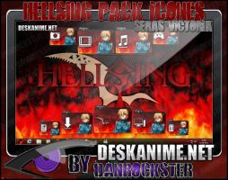 Seras Victoria Pack Icons by Danrockster