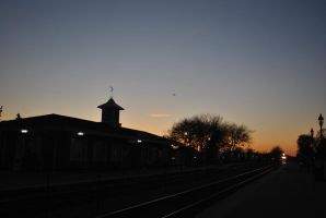 itasca train station by charlieest