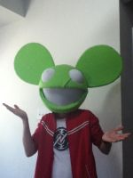 Deadmau5 Head Finished 2 by NU66S