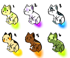 Michan adoptables batch 6 CLOSED by Capukat
