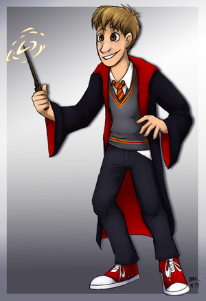 Little Gryffindor by Blairaptor