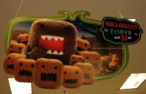 Domo-kun Halloween 014. by GermanCityGirl
