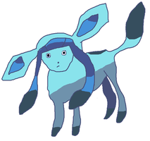 Glaceon by Cloudeon-of-the-Sky