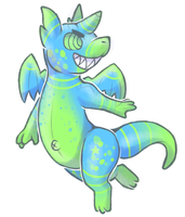 Gummi Dragon Adopt by DragonDonger