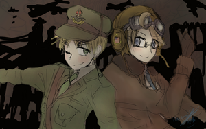 APH - UKUS WW2 version by Kazeinajiaby-IggyAMB