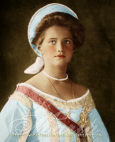Blue-eyed Russian Princess by Livadialilacs