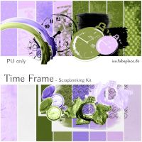 Scrapbooking Kit: Time Frame by IsaaaHa