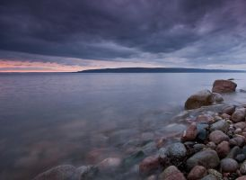 Rocks St Anns Bay by EvaMcDermott