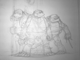 Ninja Turtles by scottygod
