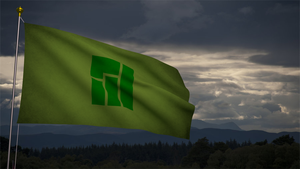 Manjaro Flag by duradcell