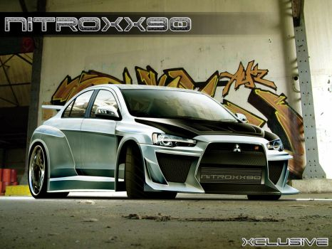 lancer evo ntx version by nitroxx90