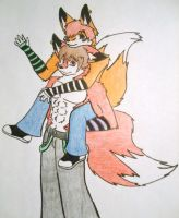Ryan and Alex Brother by Ryan-the-fox