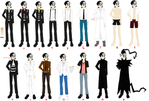 Death The Kid - Outfits/Costumes by Xxcroquis1995xX
