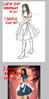 -Speedpaint Step by step- by obsceneblue