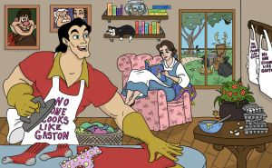 Perfect Man Gaston by CoffeeVulture