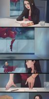 SuperCorp comic by lesly-oh