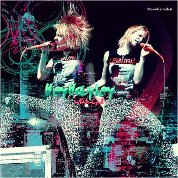 Hayley Williams Concert Blend 2 by WithRamona