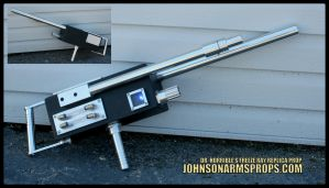 Dr Horrible Freeze Ray - Real Aluminum Version by JohnsonArms