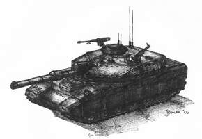 "US M3A1 ""Powell"" MBT by JanBoruta"