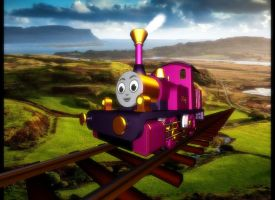 Lady the Magical Engine by Tonypilot