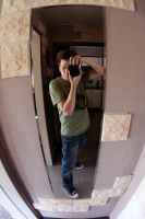 me myself and the fisheye by codeboy