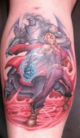 Fullmetal Alchemist Brotherhood Tattoo by 2barquack