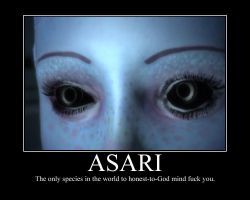 Asari Motivational by UltimaWeapon13