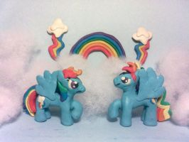 Loyal Rainbow Thunders by Plucsle