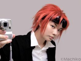 FF7 - Reno Hairstyle by momoiro-machiko
