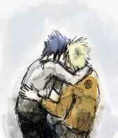 NaruSasu by antonique