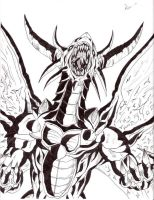 Bahamut,king of dragons by Simplykit