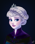 Elsa by mewDoubled