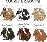 The Cookie Dragon by Mystic-Pet-Shop