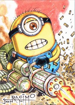 Violent Minion no.1, PSC by joraz007