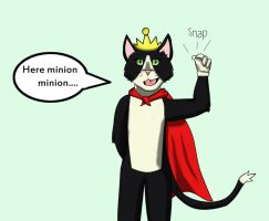 Cait Sith for naominoah by skippydragon