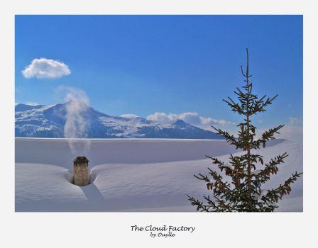 The Cloud Factory by Ouylle