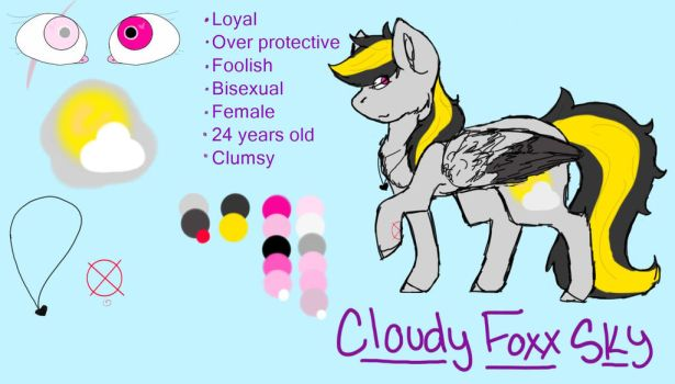 Cloudy Foxx Sky ref by VentuxVoid