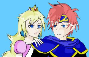 Roy and Peach by animeprincess87
